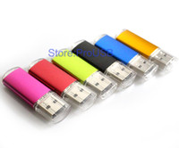 Wholesale Genuine Brand New USB Drive Memory Flash Pendrive GB GB GB GB GB GB USB2 Drives Promotion gifts assorted colors