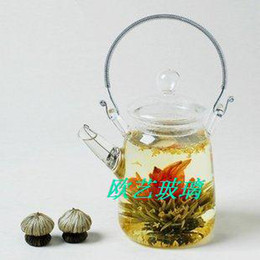 2015 Direct Selling Time-limited Eco Friendly Kung Fu Glass Tea Pot for Blooming with Screen Spout--300ml Teapot Kettle Teakettle