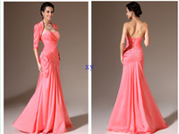 Reference Images Sweetheart Stretch Satin 2013 Top Selling Sexy Party Evening Dresses Sheath Column Sweetheart Floor length Fold Stretch satin Mother of the Bride Dresses With jacket
