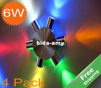 Wholesale LED Wall lighting White Warm white Green Red Blue Multi color for option W V