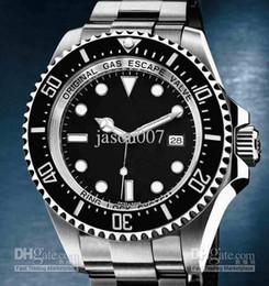 Wholesale hot sale Christmas gift automatic top brand dweller sea brand stainless steel black dial mens Mechanical Watches