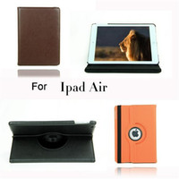 360 Rotating Smart PU Leather Back Case Cover For apple ipad...