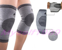 Wholesale Knee Support Bamboo Charcoal Infrared Rays Targeted Blood Circulation Health Care Size S M Z