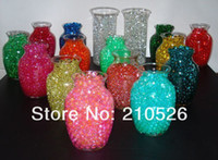 Wholesale about bag g Deco Beads Water Crystals Pearls Balls Soil Mud beads flower Garden Planting color