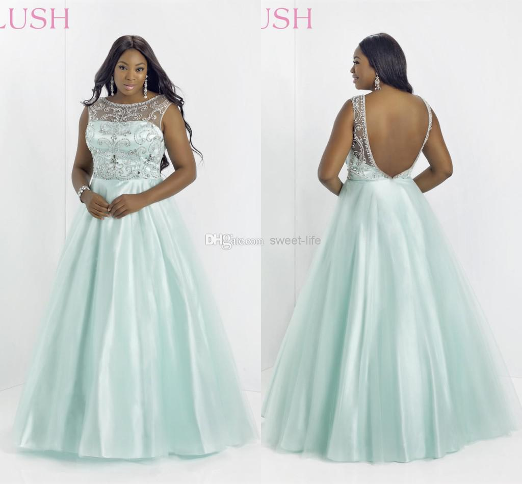 Plus Size Pageant And Prom Dresses - Prom Dresses Cheap