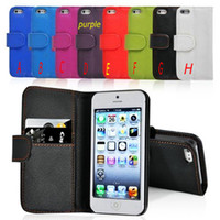 Wholesale Stock Leather Flip Stand Case Cover For Samsung Galaxy Note3 N9000 with wallet book style stand holder iphone s s s4 s3