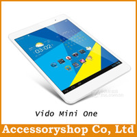 Wholesale Slim Yuandao Vido Mini One Inch Tablet PC Android Quad Core CPU ARM Cortex A9 IPS Bluetooth HDMI WIFI Free DHL