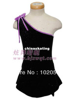 Wholesale Skating training performance under adult female children dress professional custom thermal elastic velvet fabrics
