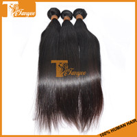 Brazilian Hair Straight 8 10 12 14 16 18 20 22 24 26 28 6A Unprocessed Brazilian Virgin Hair Extensions Straight 3pcs Lot 100% Human Hair Weave Remy Hair Weft Cheap Hair Products Can Dye Bleach