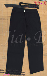 Wholesale Professional women s straight western style trousers fluid fabric trousers bow