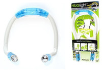 Wholesale flexible Neck Night Reading Book Hug Light Portable led light with Retail Packaging