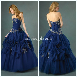 Wholesale Best selling Sweetheart Backless Beaded Pleated Floor length Hand made flowers Quinceanera Dresses Hot Prom Dresses