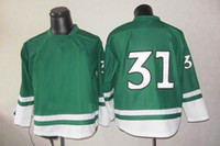 Wholesale Kids Hockey Jerseys Price Montreal Team Outdoor Apparel Canadians Hockey Jersey Green Anniversary Sport Wear Size to
