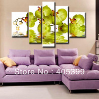 Wholesale New Arrival Handmade Abstract Oil Painting On Canvas Oversized Flower Set of Home Decoration JYJHS025