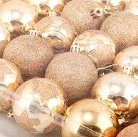 Wholesale Dia cm Lovely Christmas Balls Artificial Christmas Tree Items Christmas Gift SD107