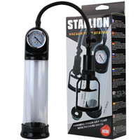 Wholesale Stallion Gauge Male Penis Vacuum Pump penis eretion Enhancer specially for those who has the ercetion problems