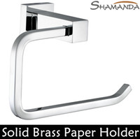 bathroom accessories products - Toilet Paper Holder Roll Holder Tissue Holder Solid Brass Chrome Finished Bathroom Accessories Products