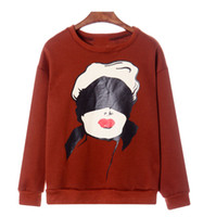 Spring / Autumn Punk / Rock / Hip-hop Fashion Fleece sweater New 2013 Womens Sweaters Autumn Winter Korea Single Color Hooded Marilyn Lu Shan Harajuku Style Pullover Sweaters Stylenanda Autumn Female