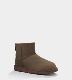 Lumières bottes à vendre-Femmes Bottines à neige 100% laine intérieure légère lisse mousse plate en caoutchouc hiver chaud bottes décontractées premier choix Eu35-40