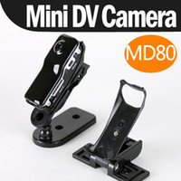 Wholesale Mini portable Cam Video Camera Camcorder DV DVR Webcam MD80 Hot Selling