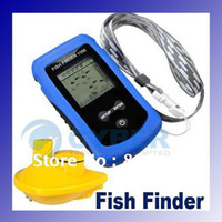 Wholesale Wireless Fish Finder with Sonar Sensor with LCD Display Protable dropshipping