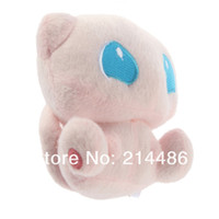 Wholesale New Cute Pokemon Rare Mew Plush Soft Doll Toy Gift Hot Selling
