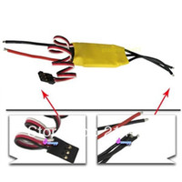 Wholesale 20A A Brushless Motor Speed Controller RC BEC ESC For helicopter Hot Selling