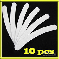 Wholesale AB409 x Grey Curved Boomerang Nail Files Curve Nail Art Manicure Files