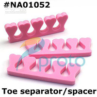 Wholesale Soft Form Toe Separator Finger Spacer For Manicure Pedicure Nail Tools