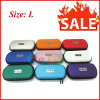 Cheap Ego Case Electronic Cigarette E cigarette E-cig Cigarette Case Ego Leather Zipper Carry Case Size S M L Suit For Ego Series Colorful refly