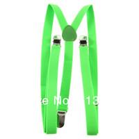 Wholesale 1pcs fashionable Clip on Unisex Pants Y back Elastic Adjustable Suspender Brace