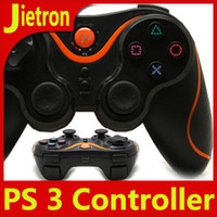 Wholesale Top Quality Sony Playstation SIXAXIS PS3 Controller Wireless Bluetooth Games Joystick DHL
