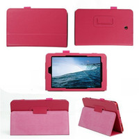 Wholesale New Folio Leather Stand Cover Holder Pouch for Dell Venue inch tablet no retail package pc