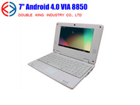Wholesale New inch Android VIA netbook DDR3 M GB HDMI Camera WIFI RJ45 Laptop shenzhen cheap