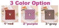 Wholesale Sanitary towel bags napkin Pad case Purse Pouch Holder Girl s Secret cute dots candy color
