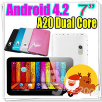 "Xmas hot sale 7"" Q88 Pro A20 Dual Core Android 4. 2 Dual..."