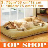Wholesale Pet Supplies Dog Couch Bed For Pet Collapsible Pad S L Size Colors Dog Kennels Memory Foam Pets Mats