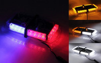 Wholesale LED High Power Car Warning Emergency Hazard Strobe Light Mini Bar w Magnetic Base Amber Blue Red White DC V