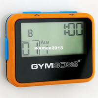 Wholesale Gymboss Interval Timer and Stopwatch New V for TABATA BOXING Fitness Gym Sports Fitness Workout Pedometer T001