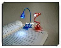 Wholesale Creative Mini LED Folding Clip Book Light Book Lamp Table Lights Gift DM