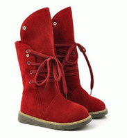 Wholesale Autumn Winter New Cold Proof Snow Boots Women s Shoes Comfortable Flat Heel Half Boots A
