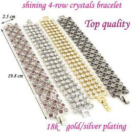 Wholesale Bracelet bangle Simulated Diamond crystal zircon gold plating BB Beauty Paradise Rihood Trading