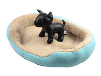 Wholesale New Hot selling Pet Dog Cat cotton Bed House Nest Warmer Soft Beds Sleep Luxury House Gift color S Code