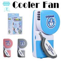 Wholesale USB Mini Fan Portable Hand Held Mini Air Conditioner Cooler Fan