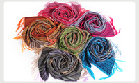 Wholesale Promotion Bohemia style all matched thick ladies wool scarf high quality TTP063
