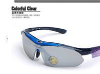 Wholesale Bicycle Sunglasses Road Cycling Goggles Polarization Riding Glasses For Myopia Lens set Y226