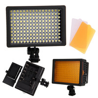 Wholesale HD Dimmable LED Video Light Lamp Camera DV Camcorder Lighting for Canon Nikon Pentax DSLR Camera Comes with Filters