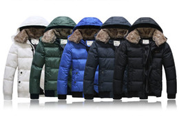 Wholesale 2013 winter new men s down jacket casual jacket thick winter clothes White Duck Down