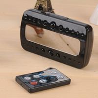 1080P Digital despertador IR cámara de visión nocturna de control remoto cámara espía dvr