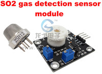 Wholesale Retail Semiconductor type gas sensor module detects sulfur dioxide SO2 qualitative detection sensor module
